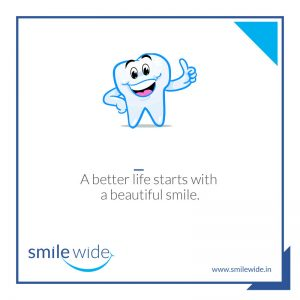 A better life starts with a beautiful smile.